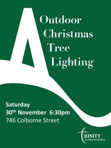 Christmas Tree Lighting Poster 2019
